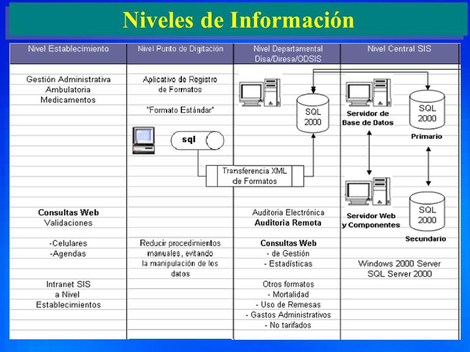 5 Niveles de Información