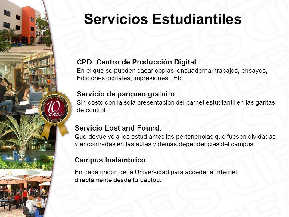 CPD: Centro de Producción Digital: En el que se pueden sacar copias, encuadernar trabajos, ensayos, Ediciones digitales, impresiones..