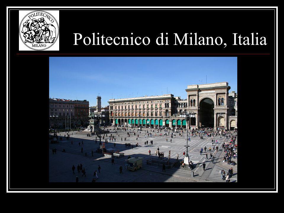 Politecnico di Milano, Italia