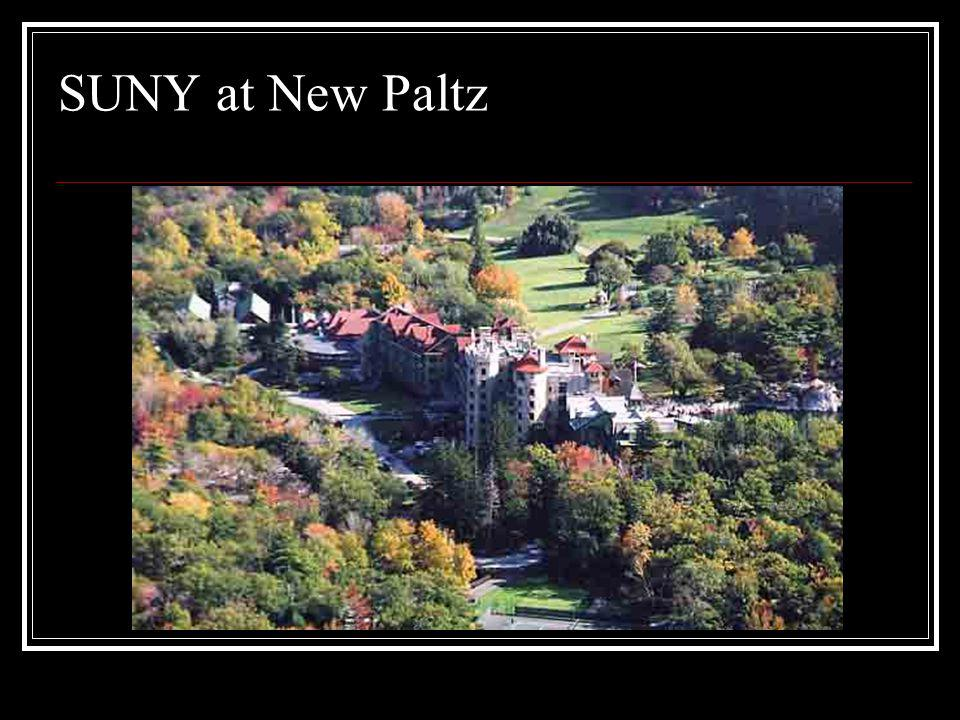 SUNY at New Paltz