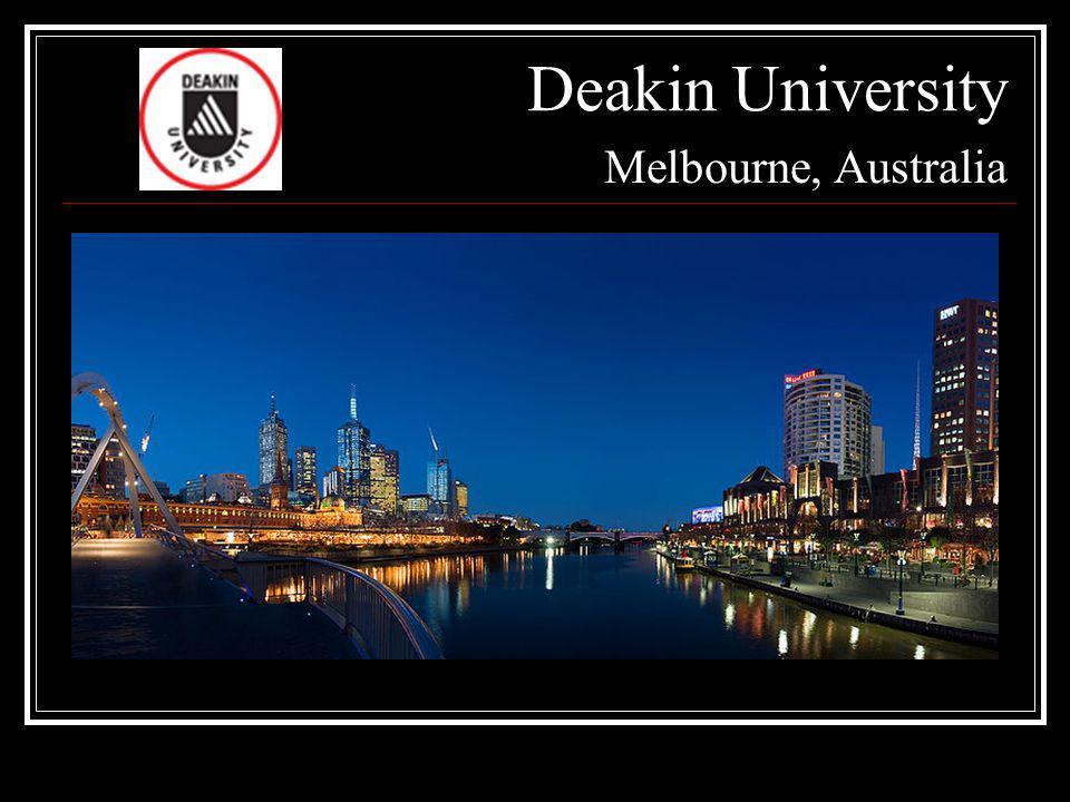 Deakin University Melbourne, Australia