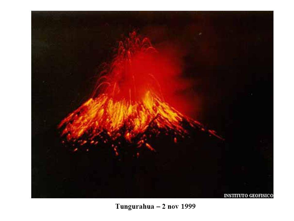 Tungurahua – 2 nov 1999