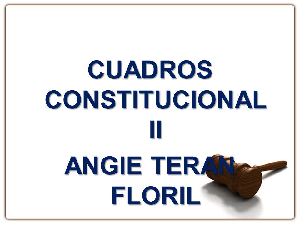 Procedimiento Legislativo Derechos Constitucionales TipicidadGADS Potestad Tributaria División Política Administrativa Leyes Legislativas