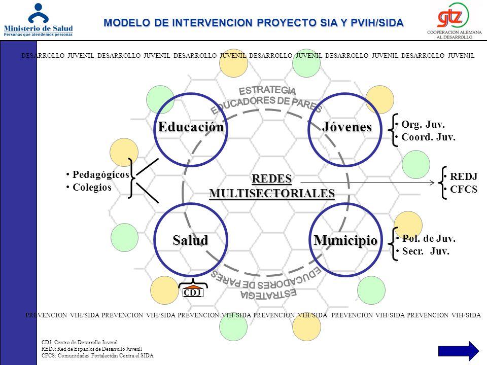 Actividades o proyectos de cooperación con otras instituciones.