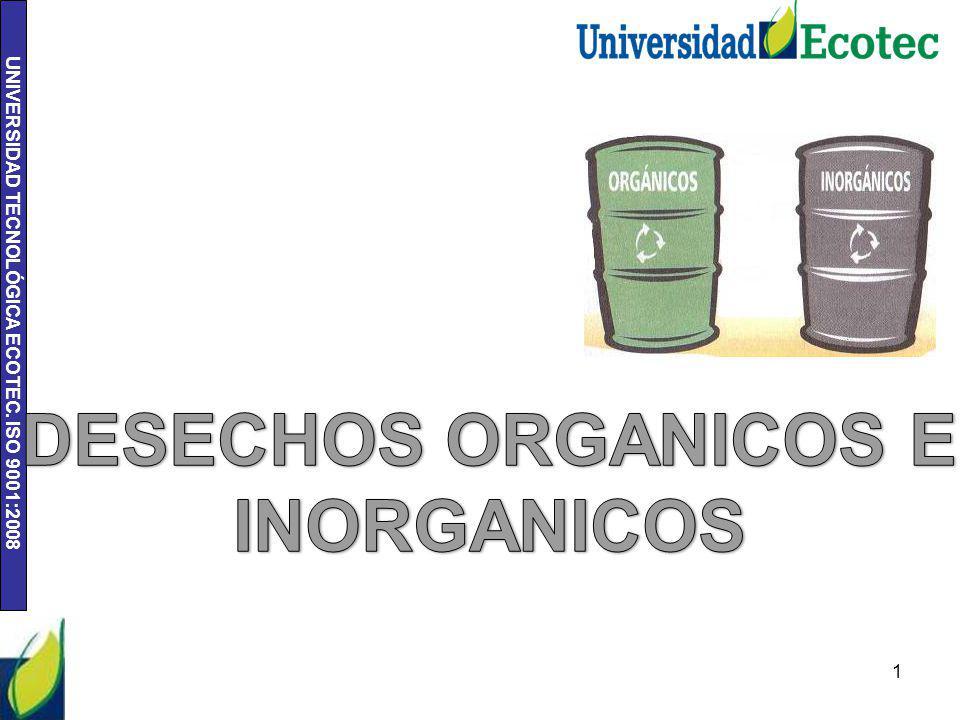 UNIVERSIDAD TECNOLÓGICA ECOTEC. ISO 9001:2008 1