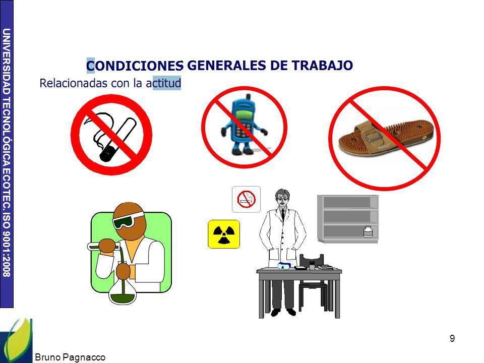 UNIVERSIDAD TECNOLÓGICA ECOTEC. ISO 9001:2008 Bruno Pagnacco 10