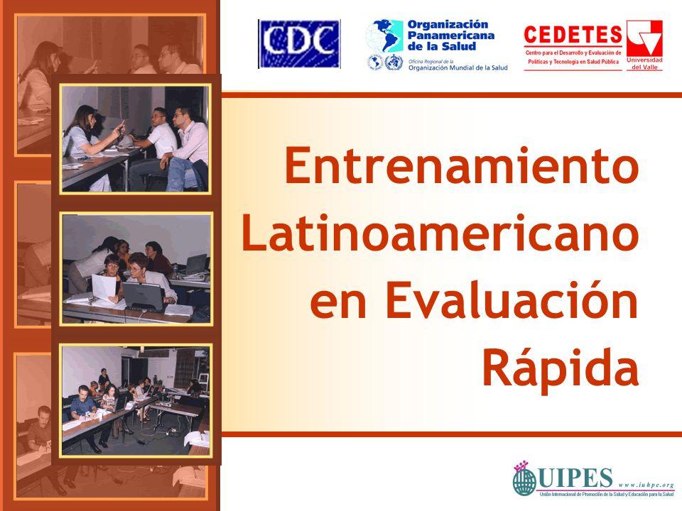 Entrenamiento Latinoamericano en Evaluación Rápida
