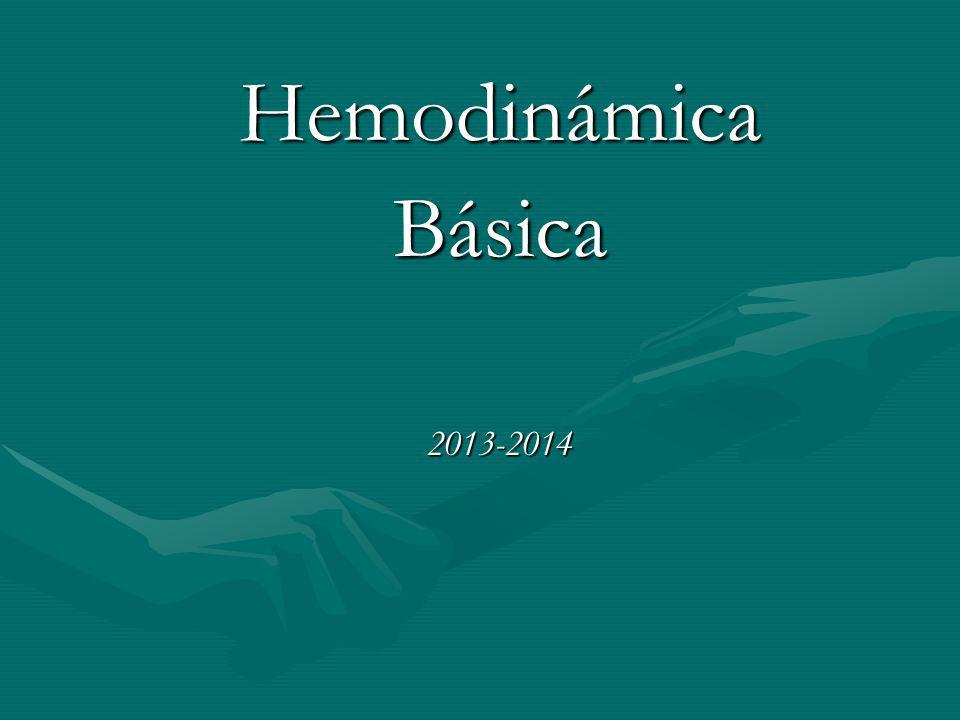 HemodinámicaBásica2013-2014