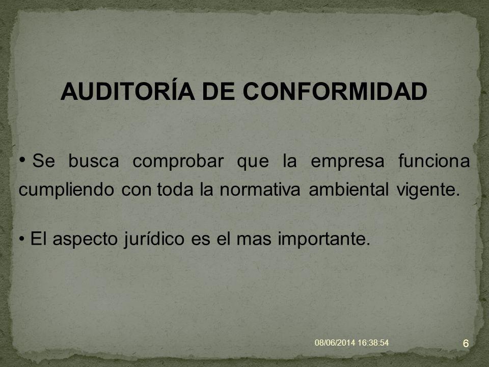 ETAPAS DE LA AUDITORÍA AMBIENTAL Auditoría. 7 Pre-auditoría. Post-auditoría.