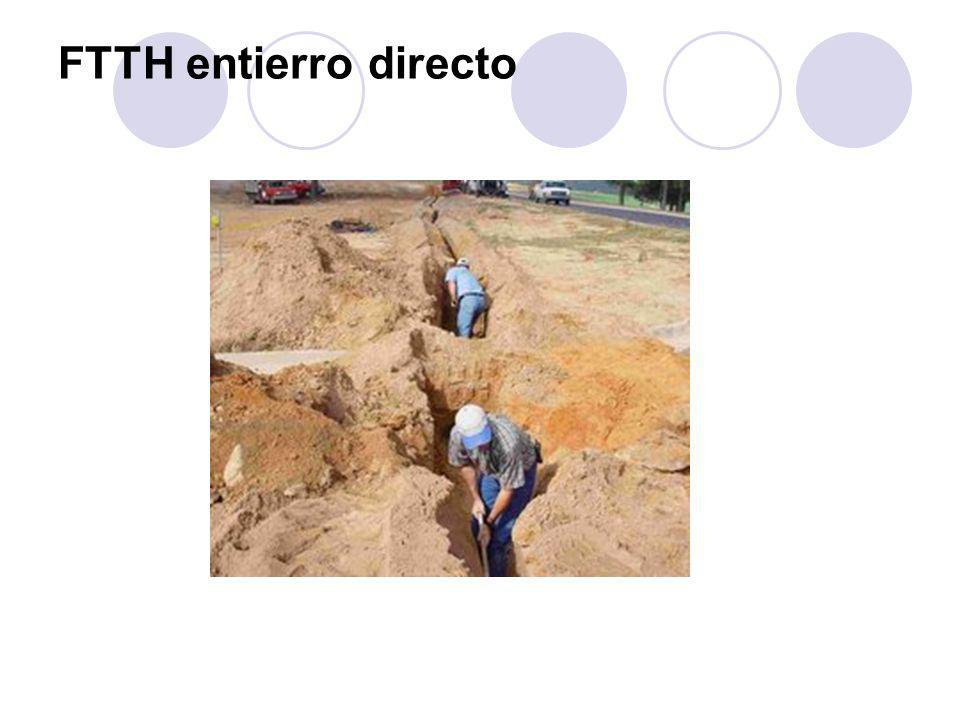 FTTH entierro directo