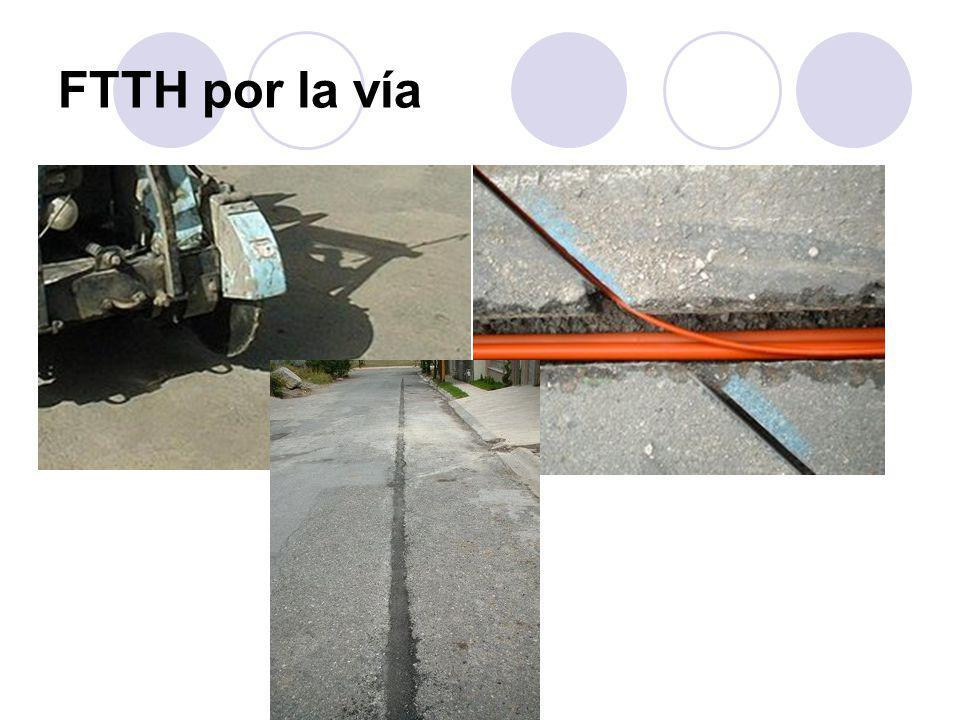 FTTH por la vía