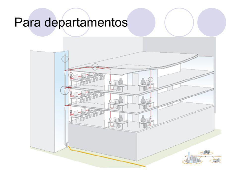 Para departamentos