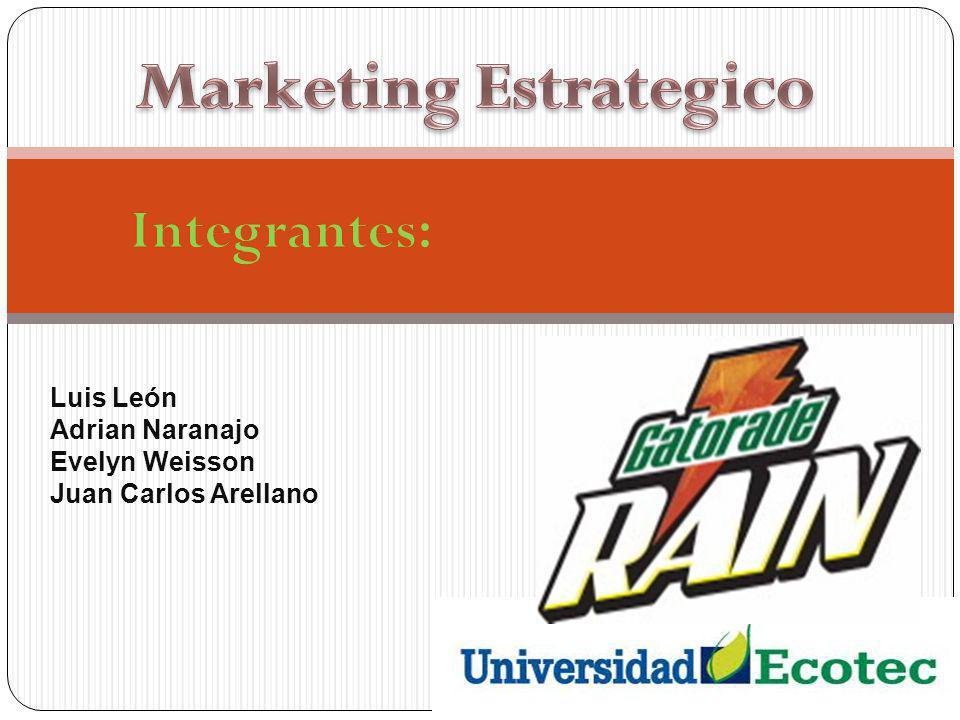 Luis León Adrian Naranajo Evelyn Weisson Juan Carlos Arellano