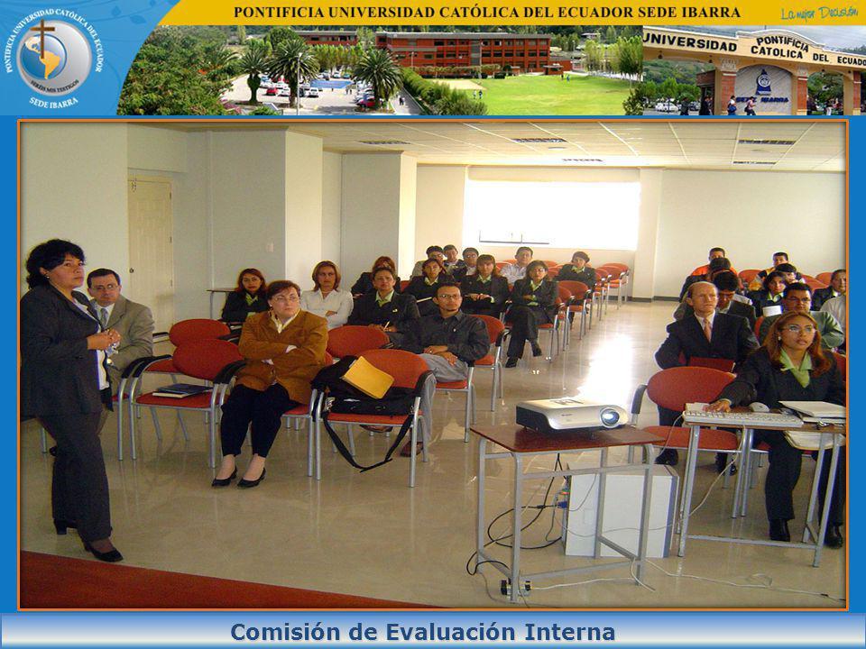 INDICADOR PLAN MEJORACONTENIDO PORCENTAJE DEL INDICADOR Autoevaluación 2007 Plan de Mejora 2008 Autoevaluación mayo 2010 CO.EA.1.2.02 Verificación de la correspondencia entre la estructura organizacional y las necesidades institucionales 59,77%86.90%100% CO.EF.1.2.08 Evidencia de la existencia de un apoyo institucional adecuado para el desarrollo de la cultura de la evaluación.