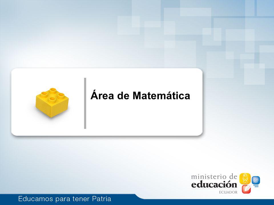 Área de Matemática