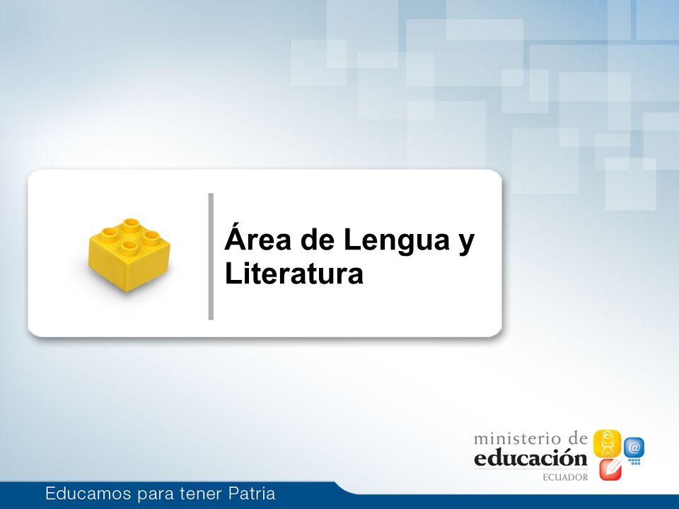 Haga clic para modificar el estilo de subtítulo del patrón 1/14/10 Área de Lengua y Literatura