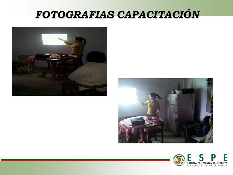 FOTOGRAFIAS CAPACITACIÓN