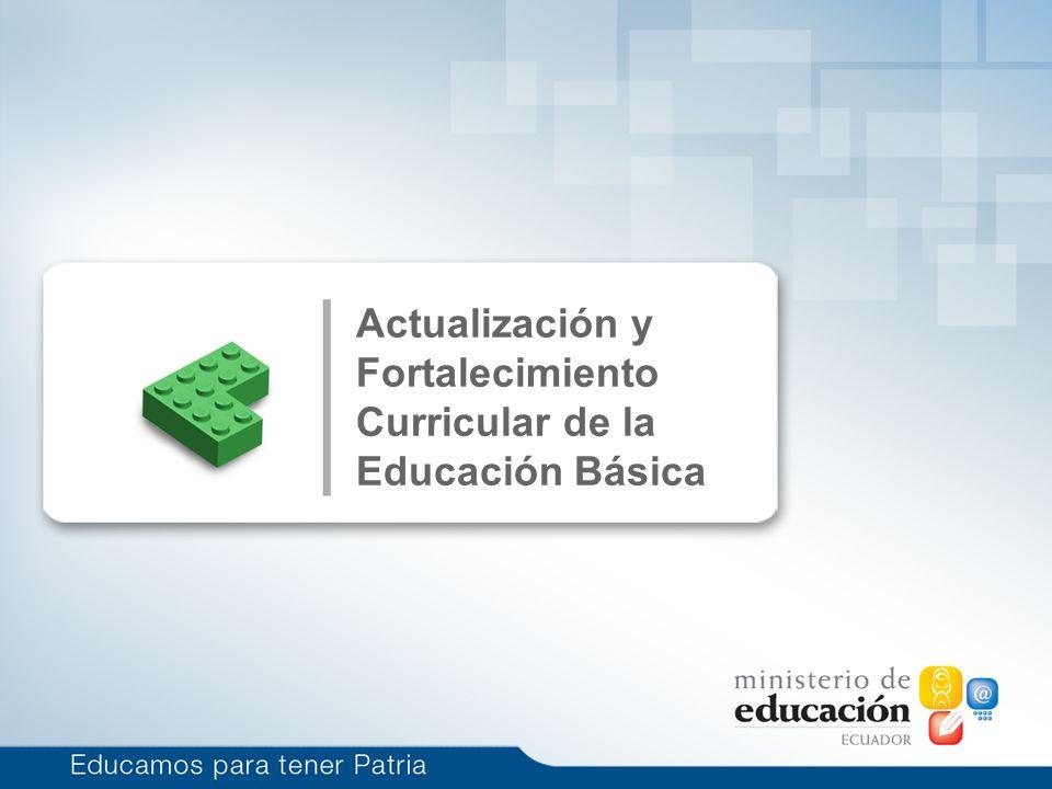 Currículo de Educación Básica (6 a 15 años) Únicamente objetivos generales para todos los niveles.