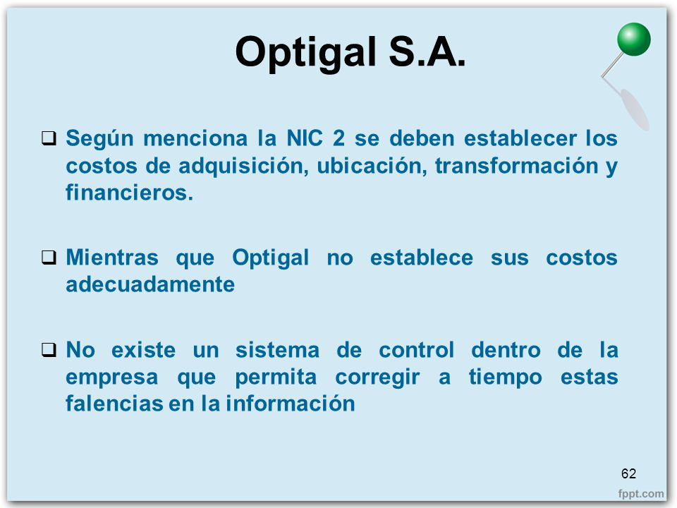 Optigal S.A.