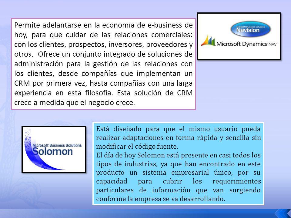 Permite adelantarse en la economía de e-business de hoy, para que cuidar de las relaciones comerciales: con los clientes, prospectos, inversores, prov
