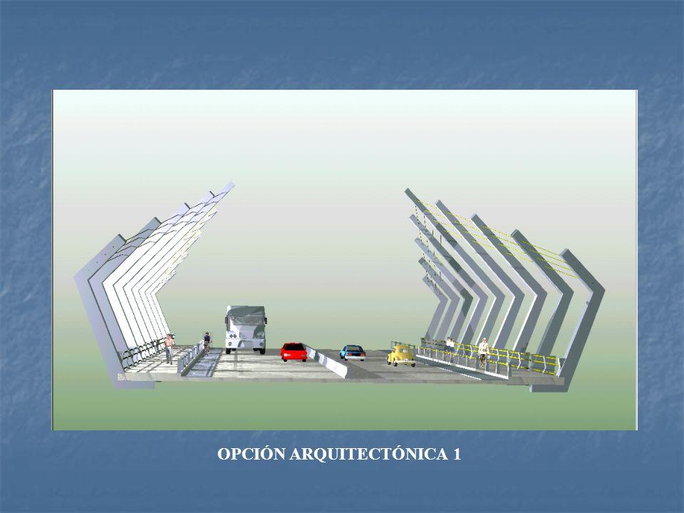 OPCIÓN ARQUITECTÓNICA BASE