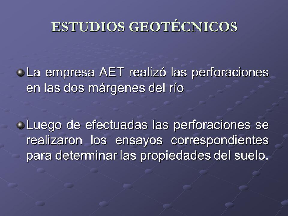 ESTUDIOS TOPOGRÁFICOS Se realizó el levantamiento topográfico planimétrico y altimétrico del puente y sus áreas de influencia.