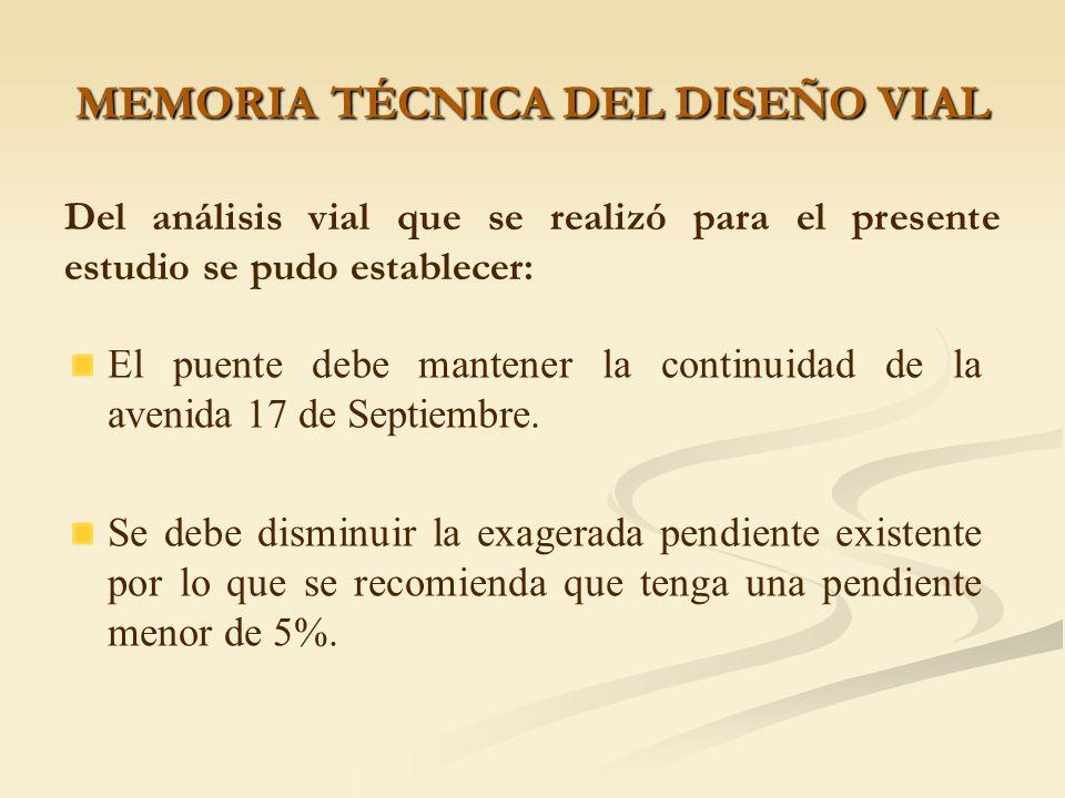 MEMORIA TÉCNICA DEL ESTUDIO GEOTÉCNICO Antes de la construcción de la cimentación, se deberá verificar al nivel de la cimentación la capacidad de carg