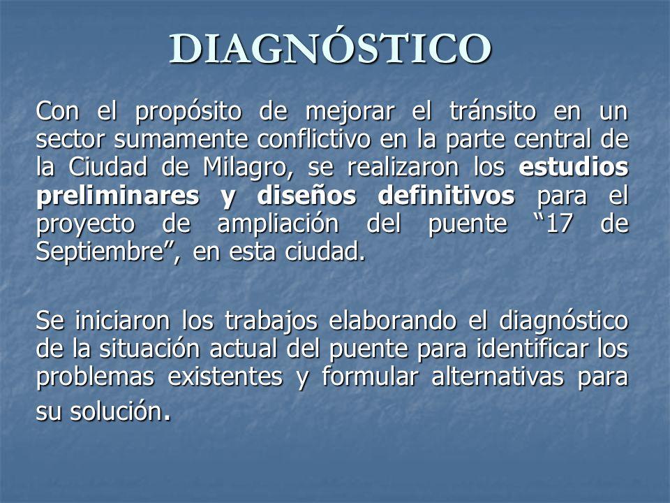 DIAGNÓSTICO ESTRUCTURAL Para determinar las condiciones en la que se encuentra la estructura se realizó el presente diagnóstico estructural.