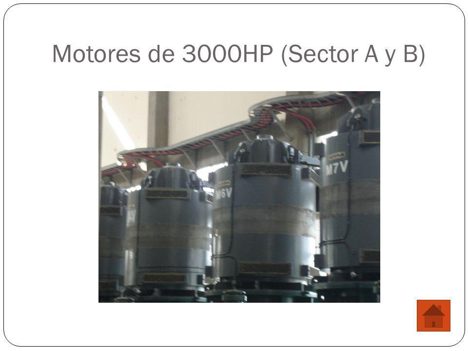 Motores de 3000HP (Sector A y B)