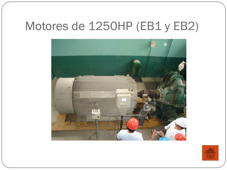 Motores de 1250HP (EB1 y EB2)