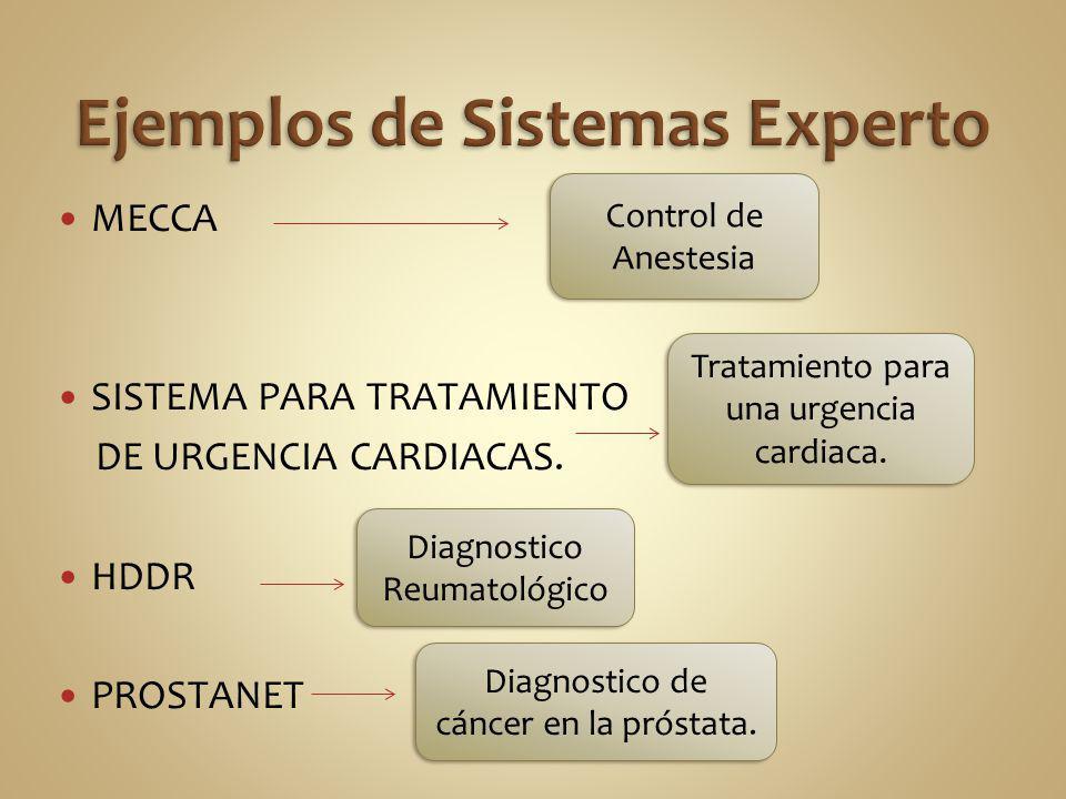 MECCA SISTEMA PARA TRATAMIENTO DE URGENCIA CARDIACAS. HDDR PROSTANET Control de Anestesia Tratamiento para una urgencia cardiaca. Diagnostico Reumatol