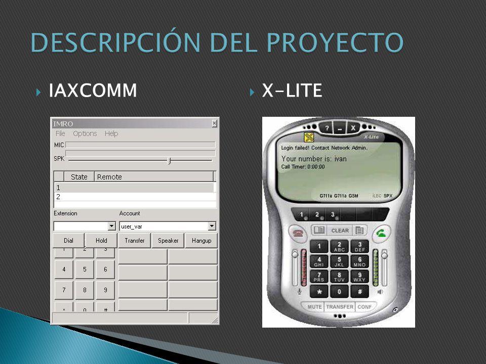 IAXCOMM X-LITE