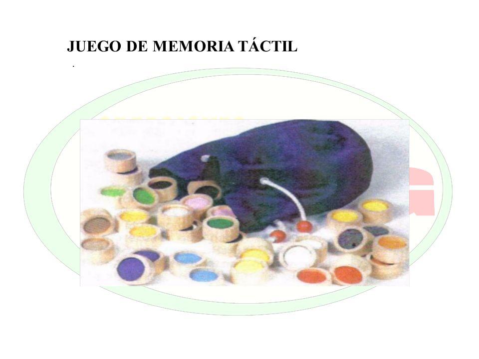 . JUEGO DE MEMORIA TÁCTIL