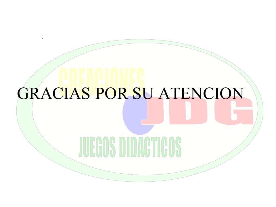 . GRACIAS POR SU ATENCION