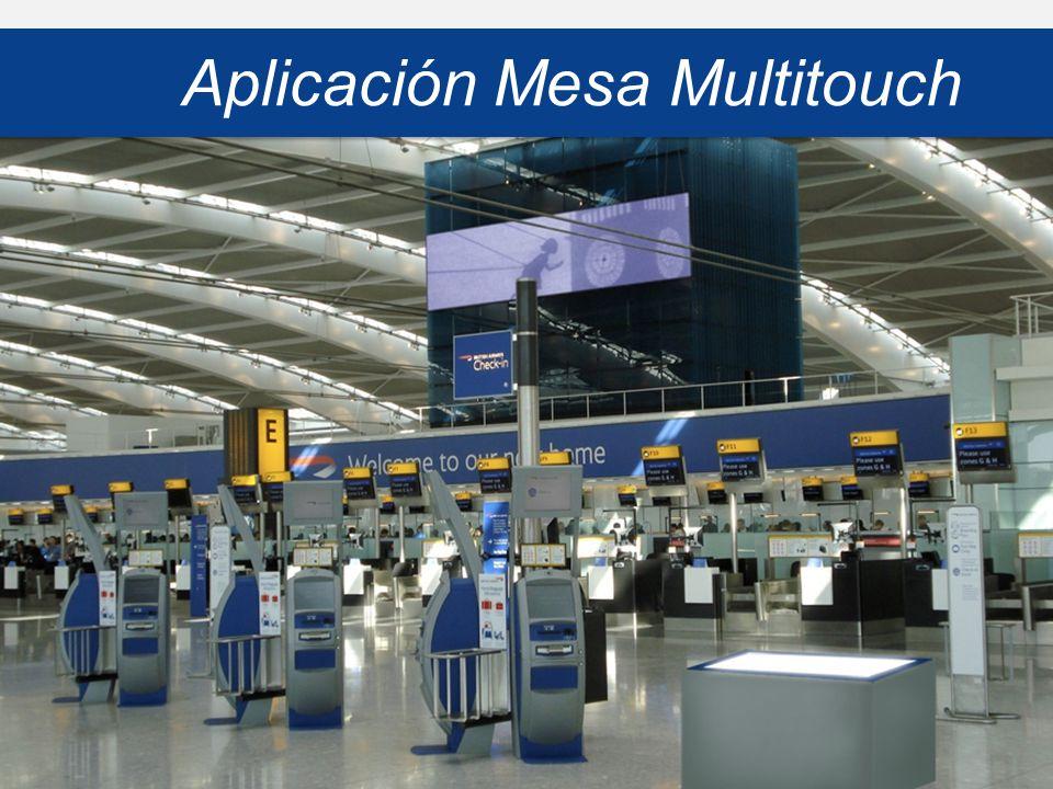 Aplicación Mesa Multitouch