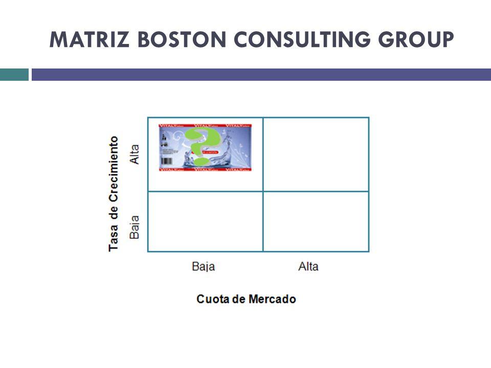 MATRIZ BOSTON CONSULTING GROUP