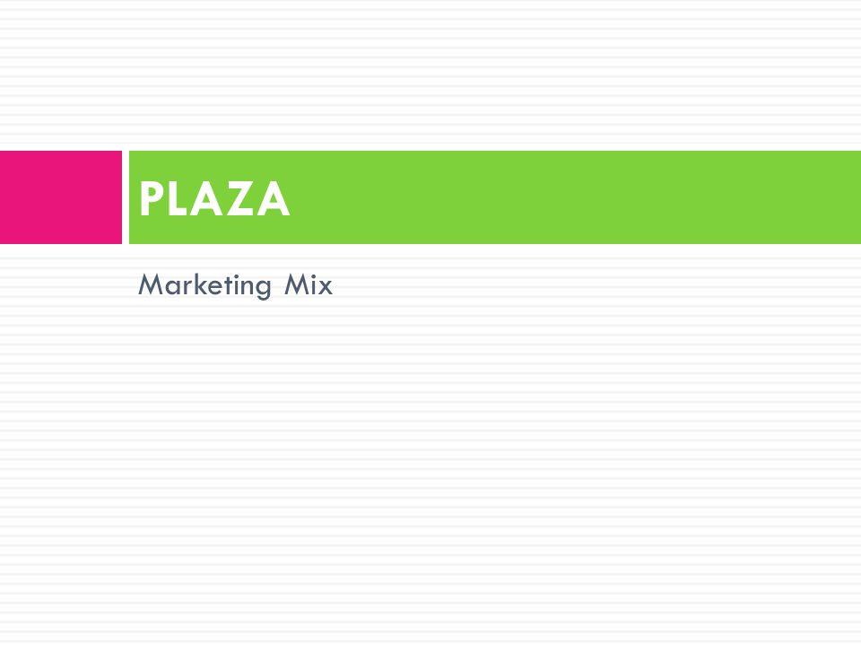 Marketing Mix PLAZA