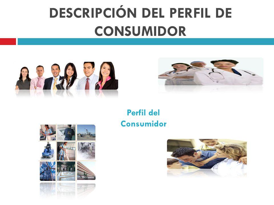 DESCRIPCIÓN DEL PERFIL DE CONSUMIDOR Perfil del Consumidor