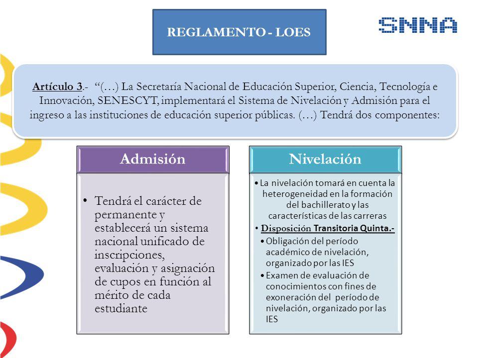 El Examen Nacional para la Educación Superior (ENES) se compone de tres áreas de exploración evaluadas a través de preguntas denominadas ítems.