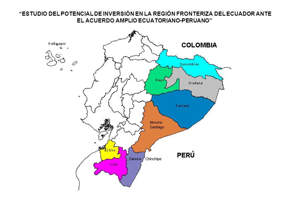 3)Vía interoceánica de integración comercial Brasil-Ecuador-Perú Este proyecto consiste en abrir vías entre el océano Pacífico y el Atlántico.