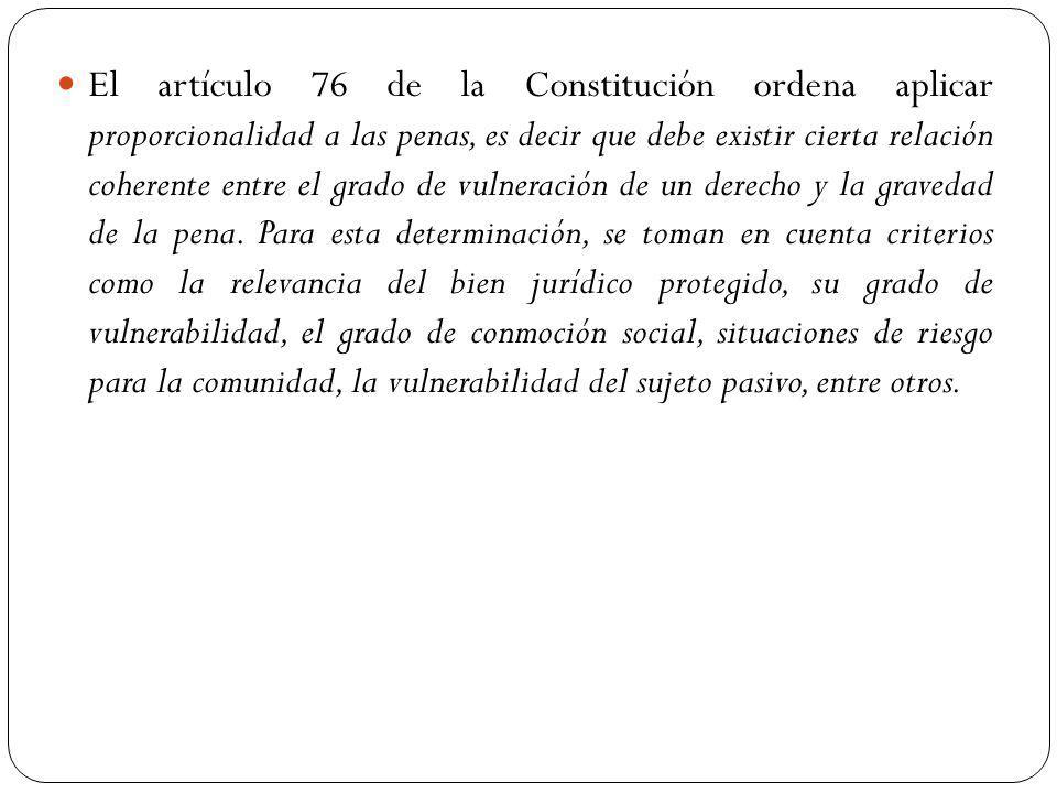 Además, la Constitución en su artículo 78 incorpora la figura de la reparación integral..