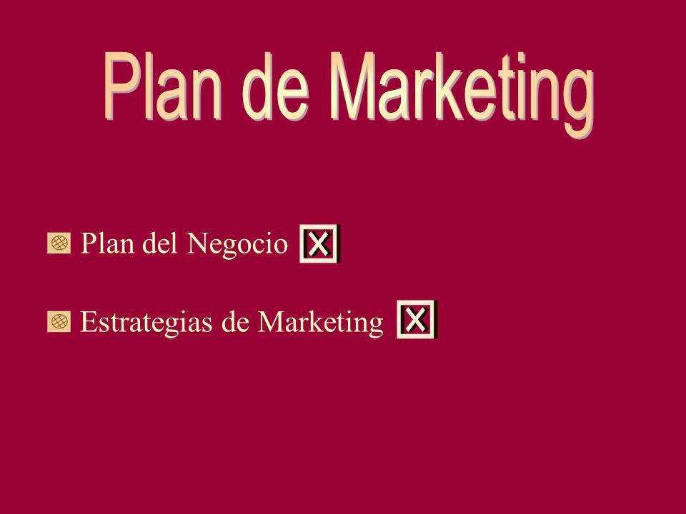 Plan del Negocio Estrategias de Marketing