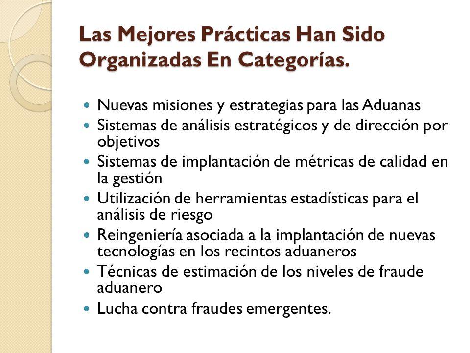 Las Mejores Prácticas Han Sido Organizadas En Categorías. Las Mejores Prácticas Han Sido Organizadas En Categorías. Nuevas misiones y estrategias para