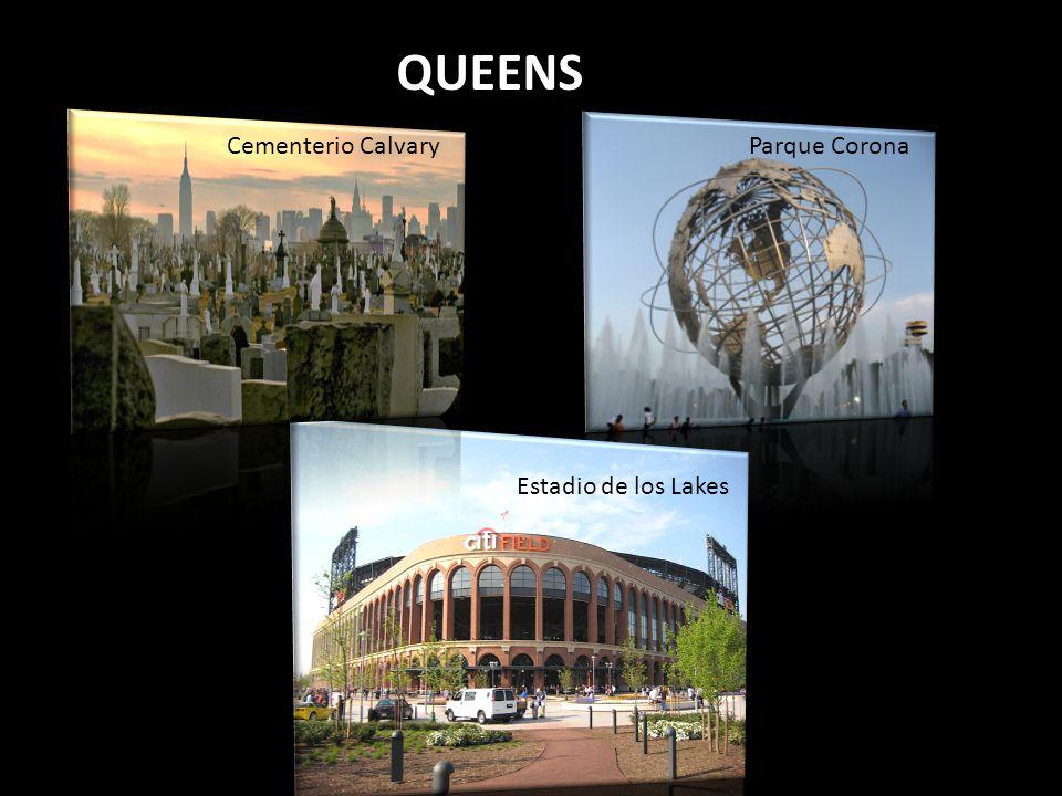 Parque Corona Estadio de los Lakes Cementerio Calvary QUEENS