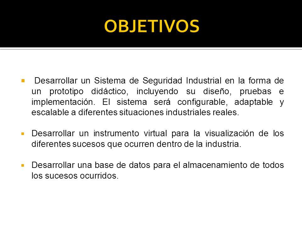 Este proyecto tiene la finalidad de demostrar desde todos los puntos de vista la viabilidad de la implementación de los sistemas de visión en procesos industriales para seguridad.