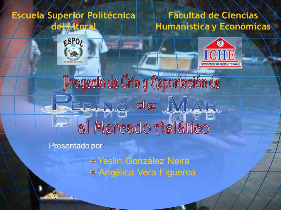 Presentado por: Yeslin González Neira Angélica Vera Figueroa Facultad de Ciencias Humanística y Económicas Escuela Superior Politécnica del Litoral