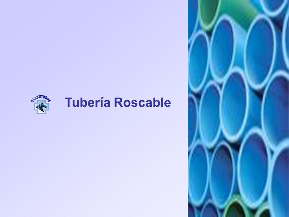 Tubería Roscable