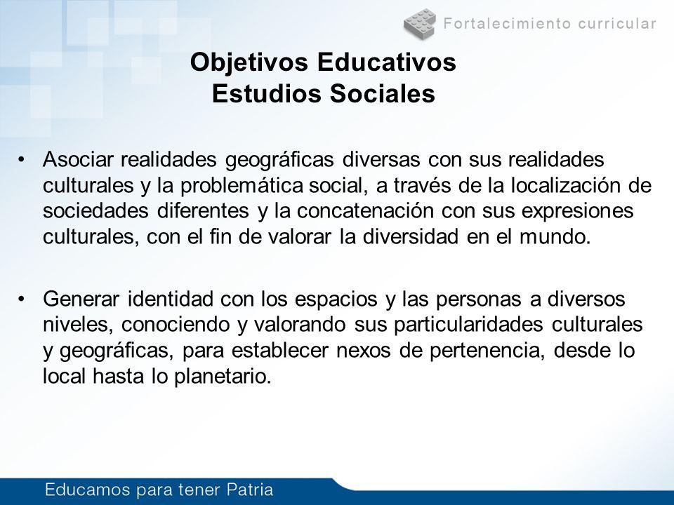 Asociar realidades geográficas diversas con sus realidades culturales y la problemática social, a través de la localización de sociedades diferentes y