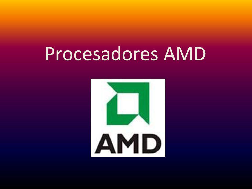Historia AMD empezó a producir chips lógicos en 1969, luego entró en el negocio de chips de Memoria RAM en 1975.