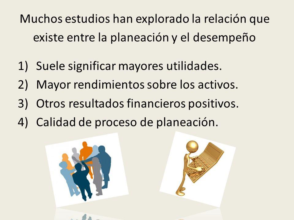 Tipos de planes Clasificación Estratégicos o tácticos.